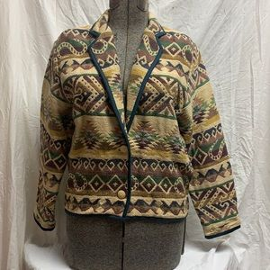 Vintage New Identity Tapestry Woven Jacket